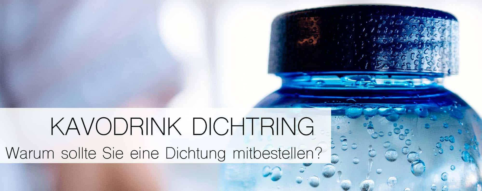 Dichtungsring – Flaschen dann auch für Kohlensäure geeignet