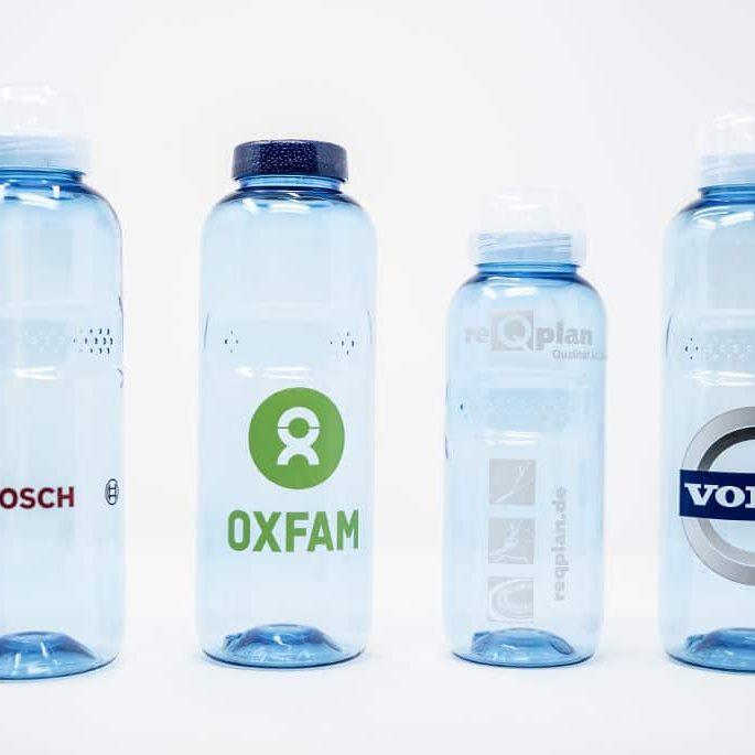 Trinkflaschen bedrucken - Kavodrink mit Logo für Kindergärten